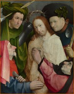 Hieronymus Bosch - Le Couronnement d'épines
